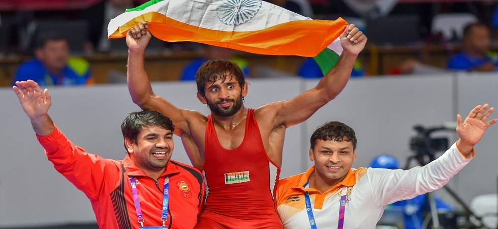 Asian Games 2018 Day 1 LIVE Score, updates, results: Bajrang Punia enters semi-final in Men's 65kg Freestyle (Photo: Twitter)