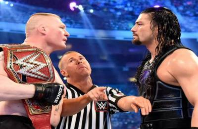 WWE SummerSlam: Brock Lesnar vs Roman Reigns as it happened