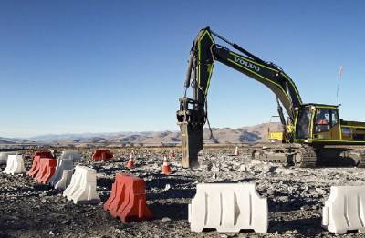 The Giant Magellan Telescope enters hard-rock excavation phase