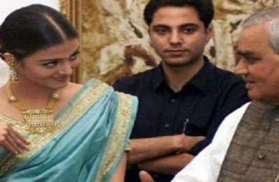 Aishwarya Rai Bachchan shares throwback pic with late PM Atal Bihari Vajpayee