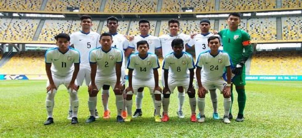 India U-16 football team beat Cameroon U-16 in friendly match (File Photo)