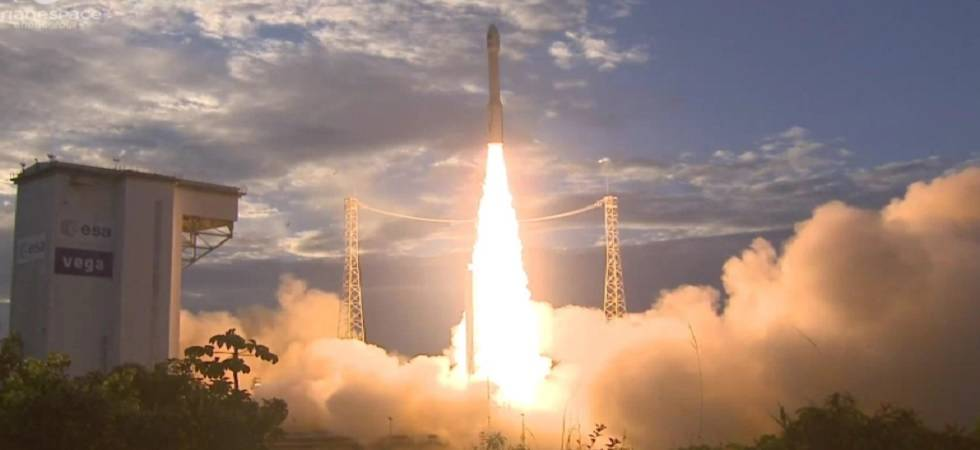 The European Space Agency's Earth Explorer Aeolus Satellite was launched on August 23, 2018 to help map the earth's winds and improve weather forecasting