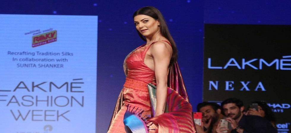 Today women don't need to pull down each other to be better: Sushmita Sen (Photo- Twitter/@myfashionlady)