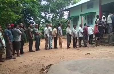 Over 77 per cent votes polled in Meghalaya bypolls