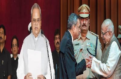 Satya Pal Malik sworn in as J&K Governor, Lalji Tandon replaces him in Bihar