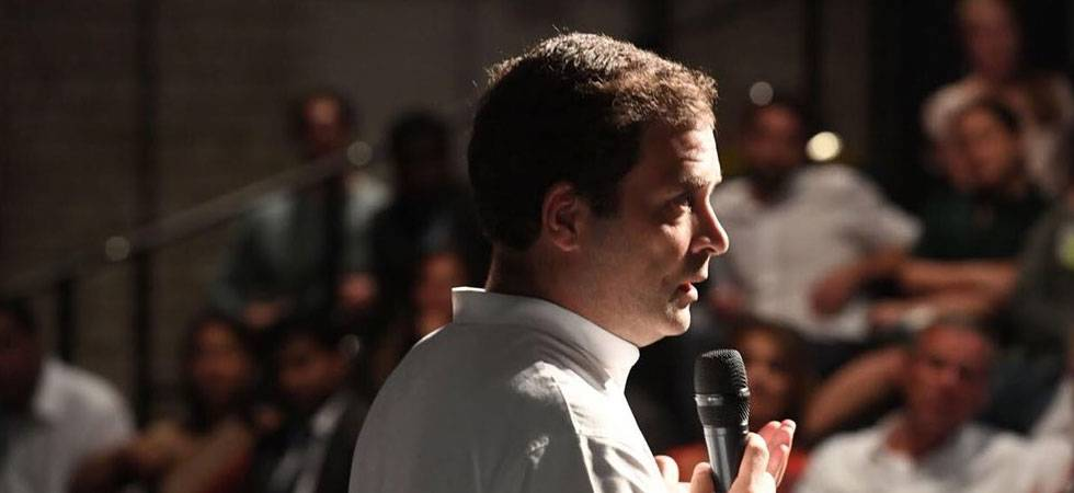Rahul Gandhi says he supports punishment for those involved in 1984 anti-Sikh riots (Photo: Twitter/@Rahul Gandhi)