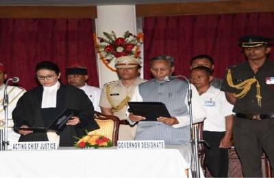 Ganga Prasad sworn in as Sikkim Governor