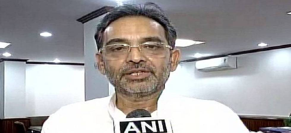 Union Minister Upendra Kushwaha (Photo: Twitter/ANI)