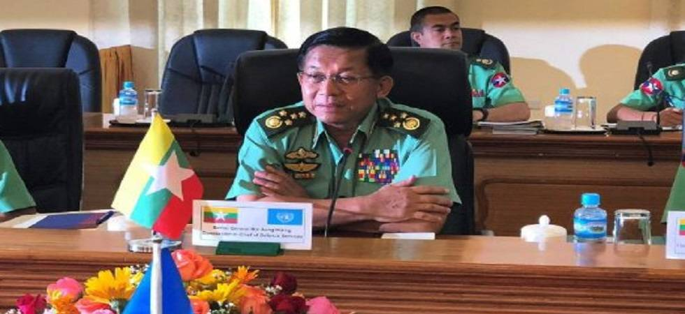 Facebook bans Myanmar Army Chief Min Aung Hlaing, 19 others over rights abuses (Photo: Twitter)