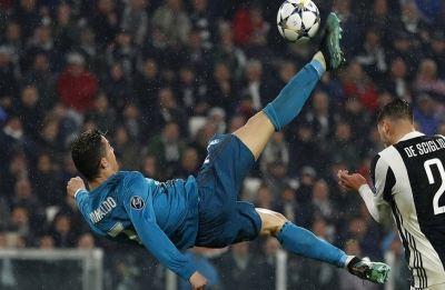 Cristiano Ronaldo wins UEFA Goal of the Season for overhead kick vs Juventus