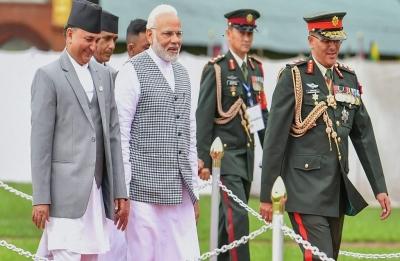 PM in Nepal: Narendra Modi  arrives at inaugural session of 4th BIMSTEC Summit