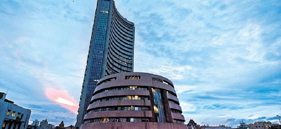 Sensex rises over 100 pts ahead of GDP data release; Nifty reclaims 11,700 (file photo)