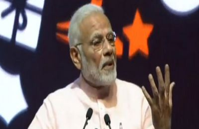 PM Modi hails Q1 GDP figures, says Congress left India's economy on a landmine