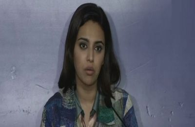 Those who celebrated Mahatma Gandhi's killing are in power today, says Swara Bhasker