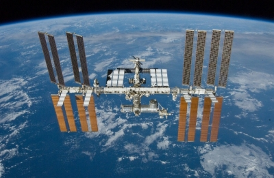 NASA detects small leaks at International Space Station, crew safe