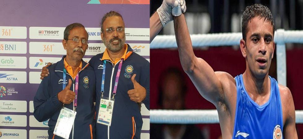 Boxer Amit Panghal, Bridge duo Pranab Bardhan-Shibhnath Sarkar win Golds in Asiad (Photo: Twitter)