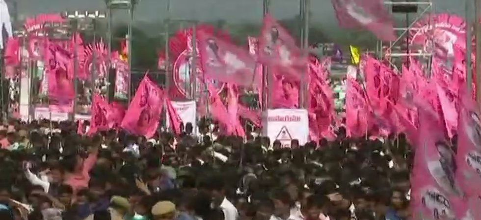 Pragathi Nivedana Sabha: Telangana turns pink ahead of mega TRS rally