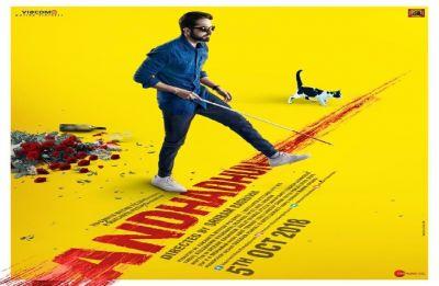 AndhaDhun trailer out! It's thriller weekend!