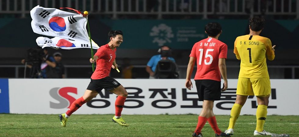 Asian Games 2018: Son Hueng-min, South Korean team exempted from mandatory military service after Gold medal (Photo: Twitter)