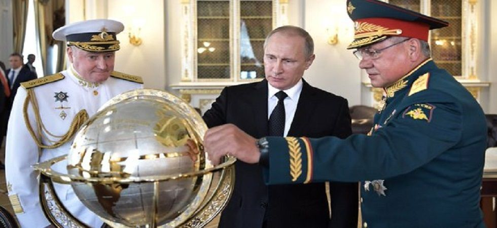 Kremlin rejects Macron's claim Putin wants to 'dismantle' European Union (Photo:Twitter)