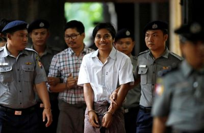 Reuters reporters jailed for seven years in Myanmar 'state secrets' case
