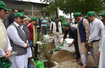 Pakistan PM launches massive tree-plantation drive in Haripur