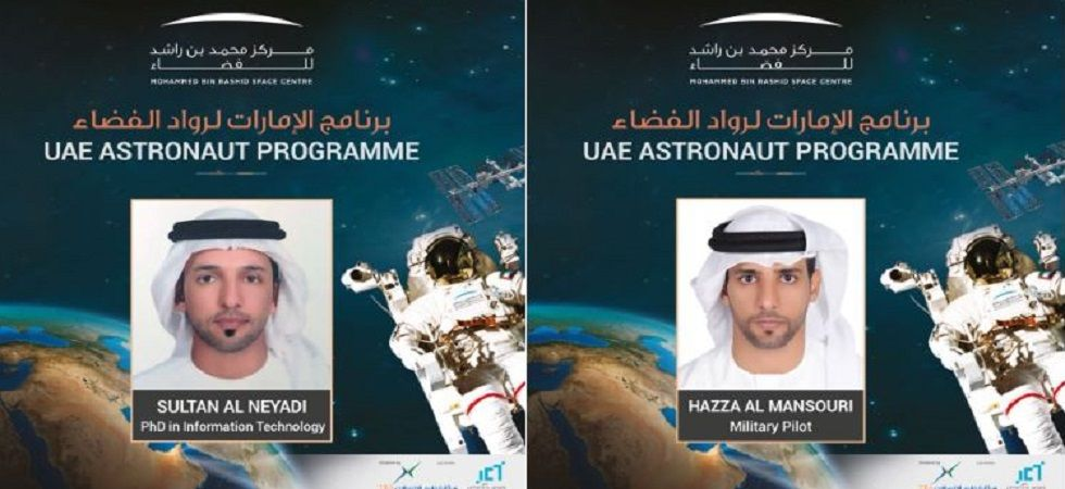 UAE announces first two astronauts to go to International Space Station (Photo: Twitter/@HHShkMohd)