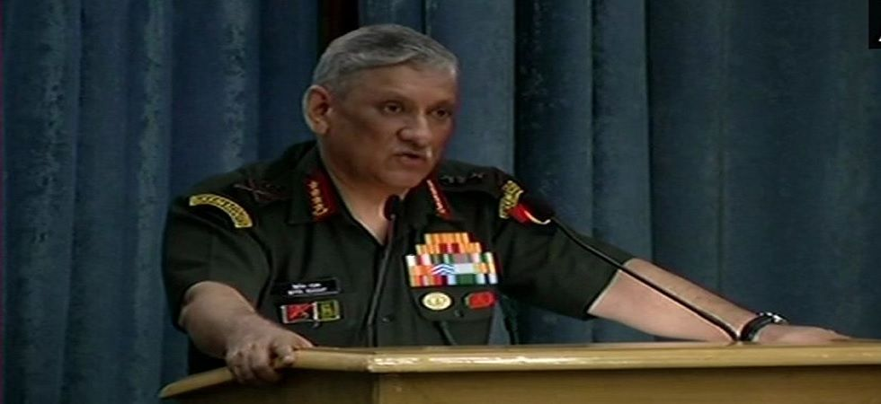 Army personnel can't be denied use of smartphones: Bipin Rawat (Photo: Twitter/ANI)