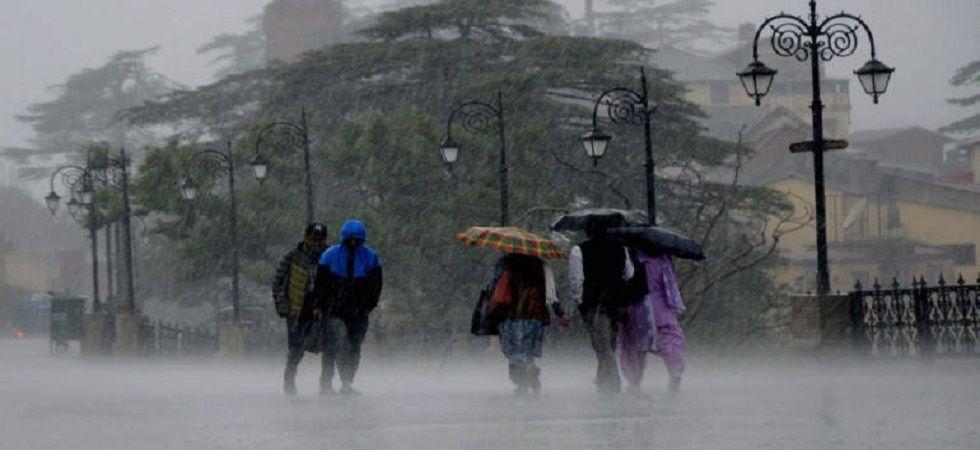 Himachal Pradesh: Heavy rains trigger landslides in several parts of state (Photo: Twitter)