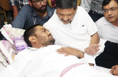 PAAS leader Hardik Patel hospitalised after health deteriorates