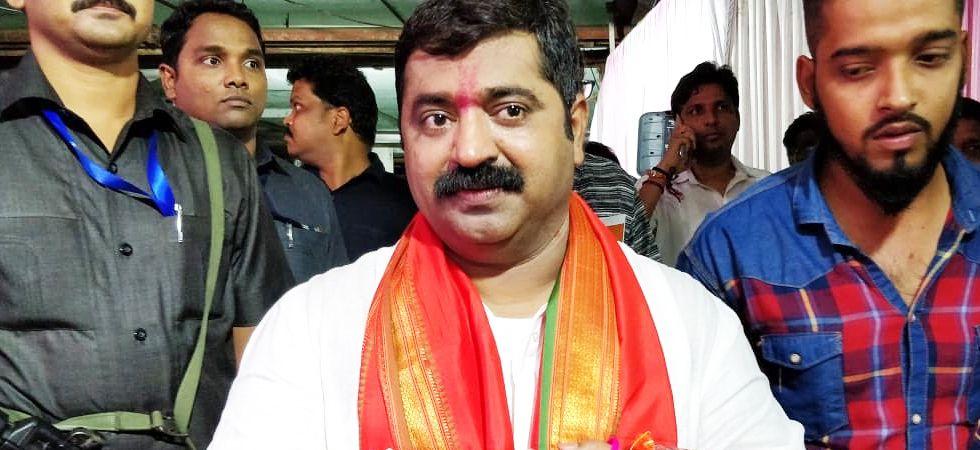 Maharashtra BJP MLA Ram Kadam (Photo- Twitter/@ramkadam)