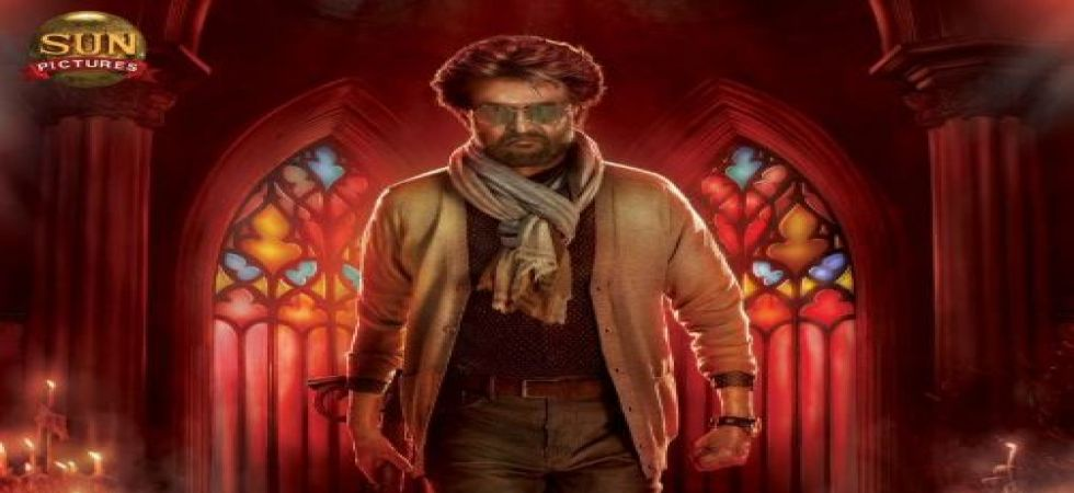 Thalaivar Rajinikanth's Petta first look released; the peppy neon pink scrim will make you go 'whistle podu'