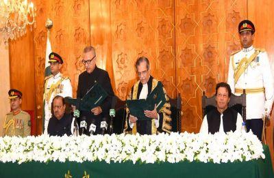 Arif Alvi takes charge as Pakistan's new president