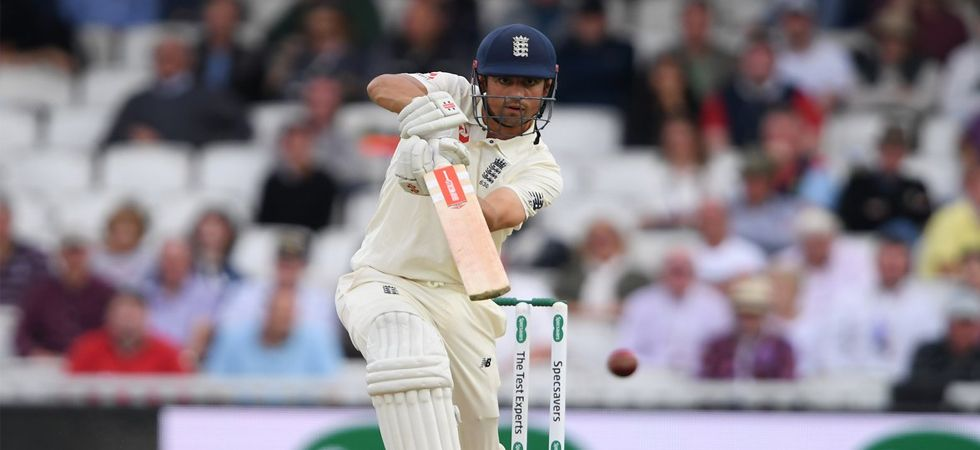 England vs India 5th Test: Alastair Cook continued to dominate the bowlers for the last time (Photo: Twitter)