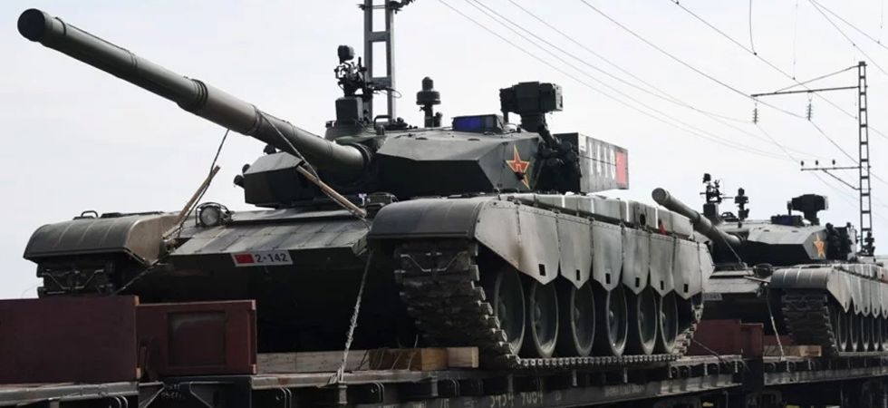 Russia prepares for biggest war games in its history (Photo: Twitter)
