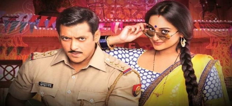 Salman Khan, Sonakshi Sinha confirms Dabangg 3 release year on 8th its anniversary (Twitter)