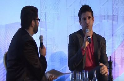 Farhan Akhtar attends India-UK Business Summit in London