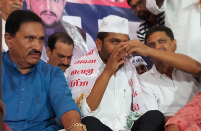 'My fight for quota will continue': Patidar leader Hardik Patel after breaking indefinite hunger strike