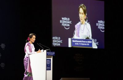 Suu Kyi defends court decision to jail Reuters reporters