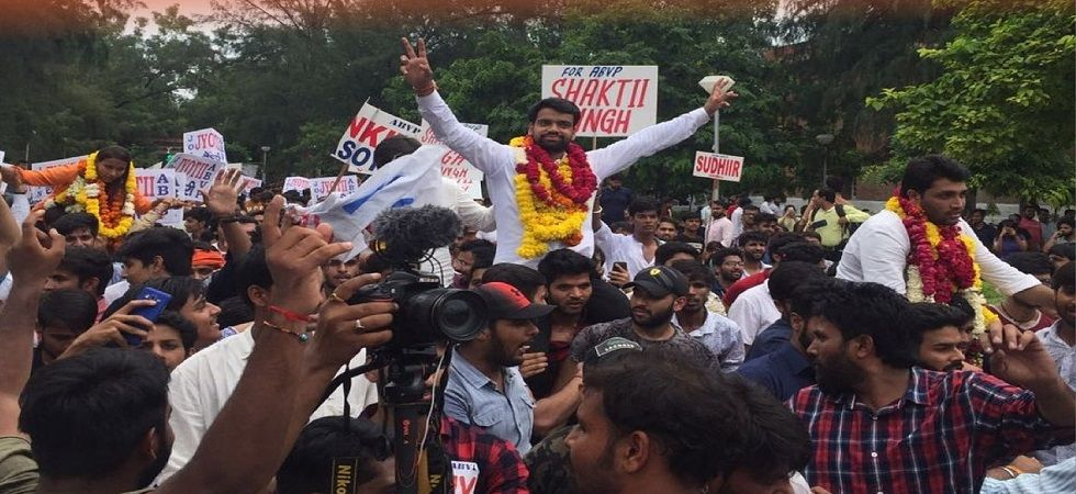 DUSUElections 2018 Results: ABVP bags three posts, NSUI one; Ankiv Baisoya is DUSU president  (Photo Source: Twitter)