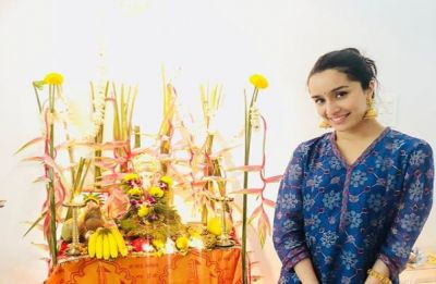Shraddha Kapoor's angelic picture of Ganesh Chaturthi celebrations with grandparents will put you in awe!