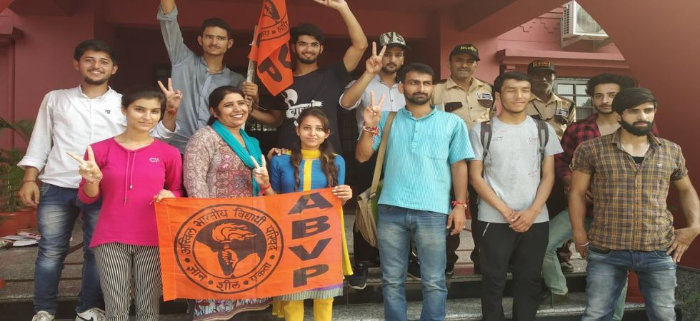 JNUSU Polls: Purported ABVP posters promising ban on short dresses, non-veg food sparks row