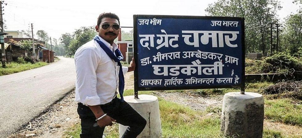 Image result for Bhim Army chief Chandrashekhar Azad