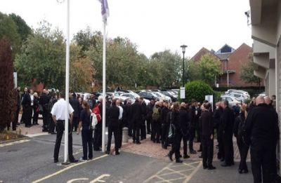 UK prison staff hold strike over dangerous conditions