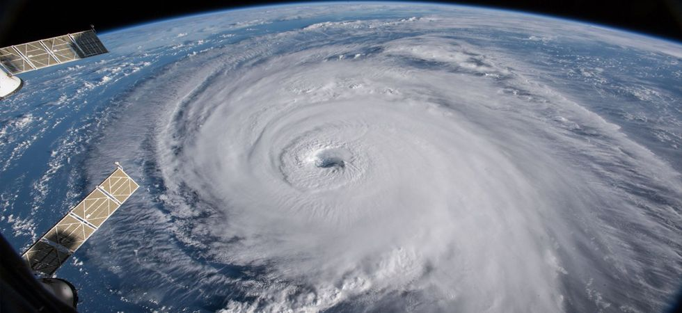 NASA footage reveals the 'menacing' Hurricane Florence (Photo: Twitter)