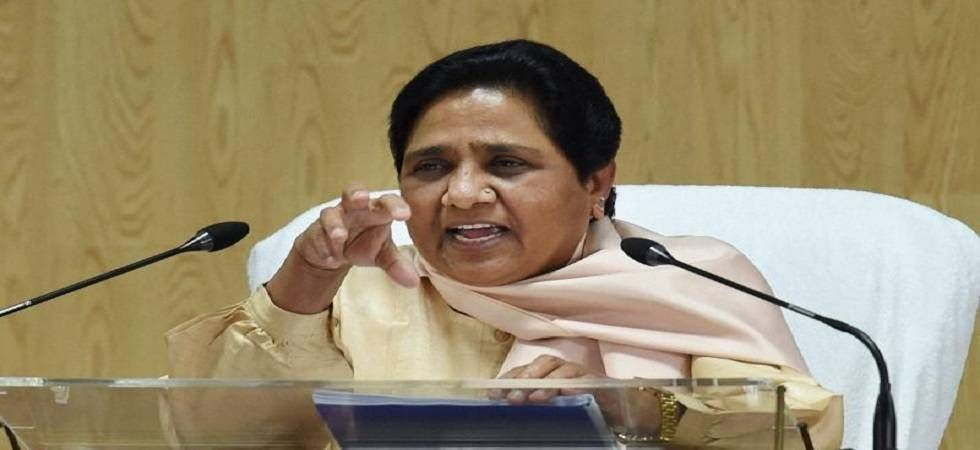 Mayawati accuses BJP of using Vajpayee's death for political gains (File Photo)