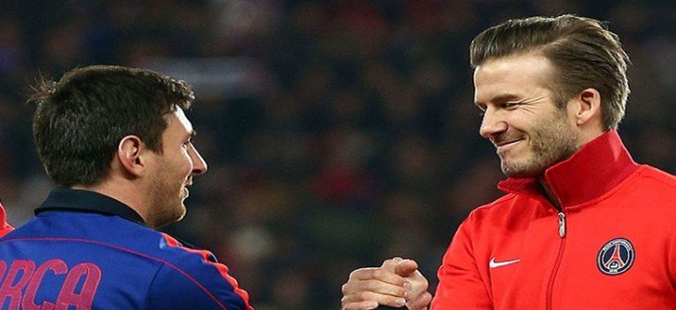 Transfer Rumours: David Beckham wants Lionel Messi for his new MLS side Inter Miami (Photo: Twitter)