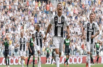 Serie A: Cristiano Ronaldo breaks the deadlock as he scores 2 goals to end his 320-minute goalless streak for Juventus