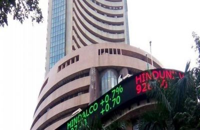 Sensex crashes 505 points on rupee woes, global worries