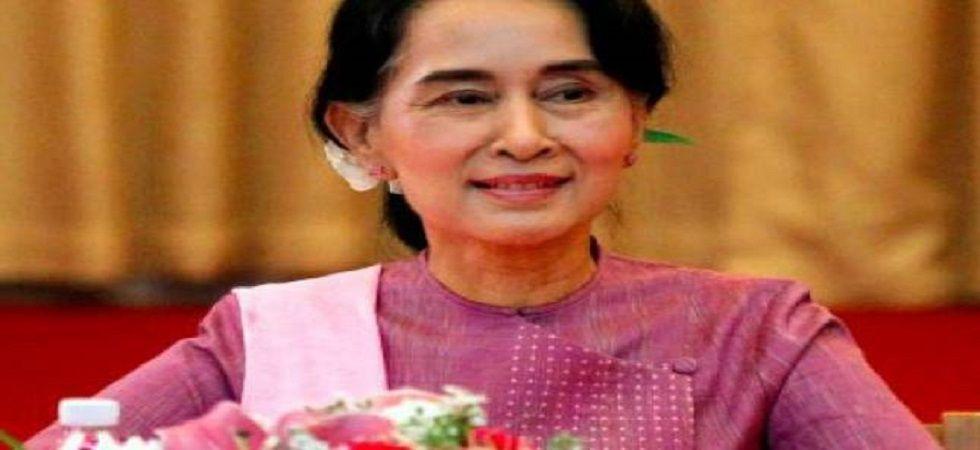 Myanmar leader Aung San Suu Kyi (File Photo- PTI)